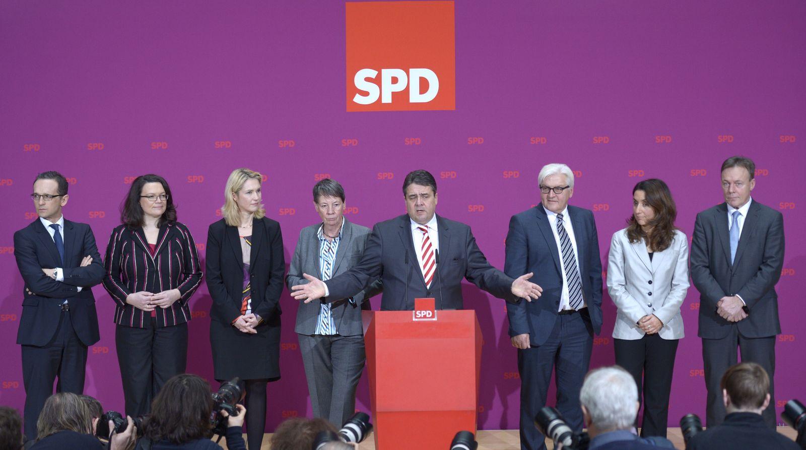 SPD/ Pressekonferenz