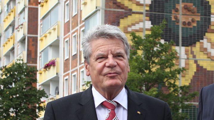 Gedenktag zu Rostock-Krawallen: Gauck beschwört den wehrhaften Staat