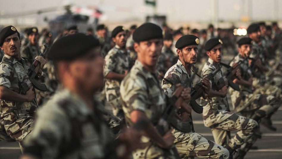 """Saudi-arabische Soldaten in Mekka: """"Wir haben jetzt im Jemen Erfahrungen gesammelt"""""""