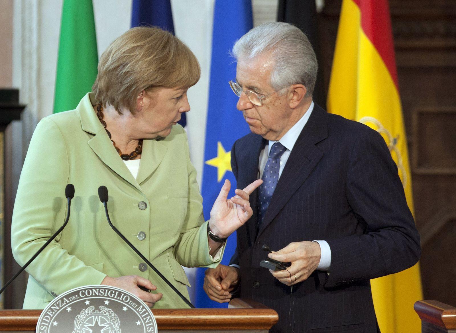 Merkel / Monti