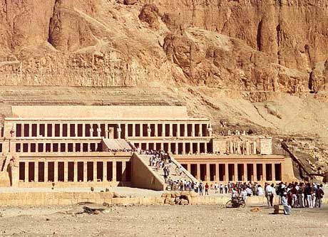 Tempelanlage nahe Luxor