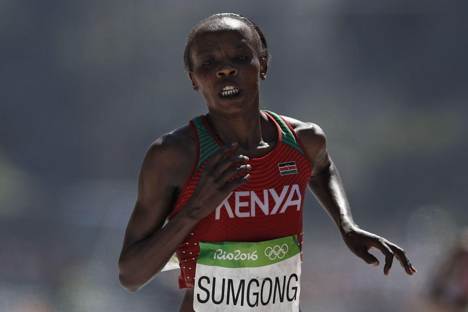 Jemima Sumgong Marathon