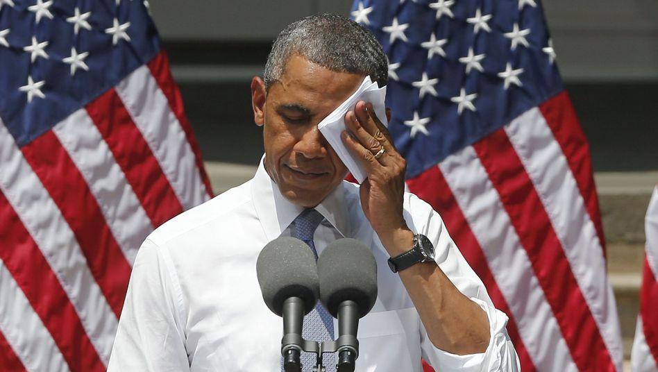 """US-Präsident Obama: """"Unseren Kindern zuliebe"""""""
