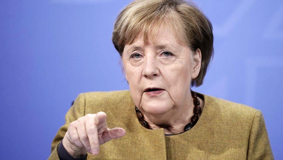 Bundeskanzerlin Angela Merkel (CDU)