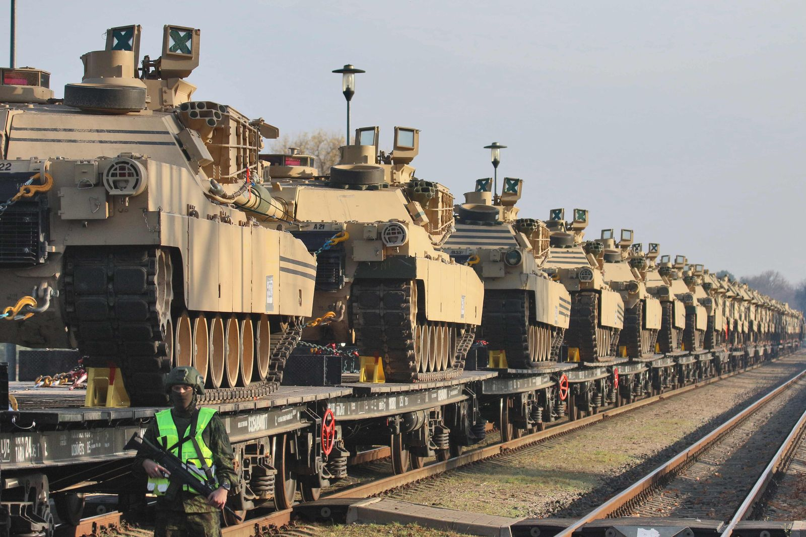 US-Armee Abrams Panzer