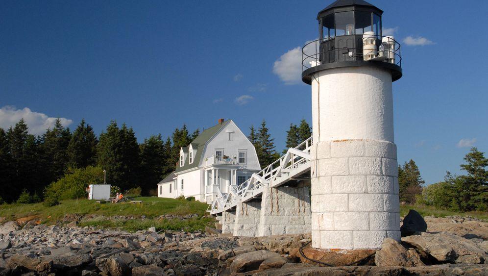 Maines Leuchttürme: Eine Palette von Grün, Granit und tiefstem Blau