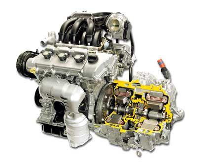 Elektro-Motor im Lexus RX 400 h: Das Aggregat an der Vorderachse entwickelt ein Drehmoment von 333 Nm