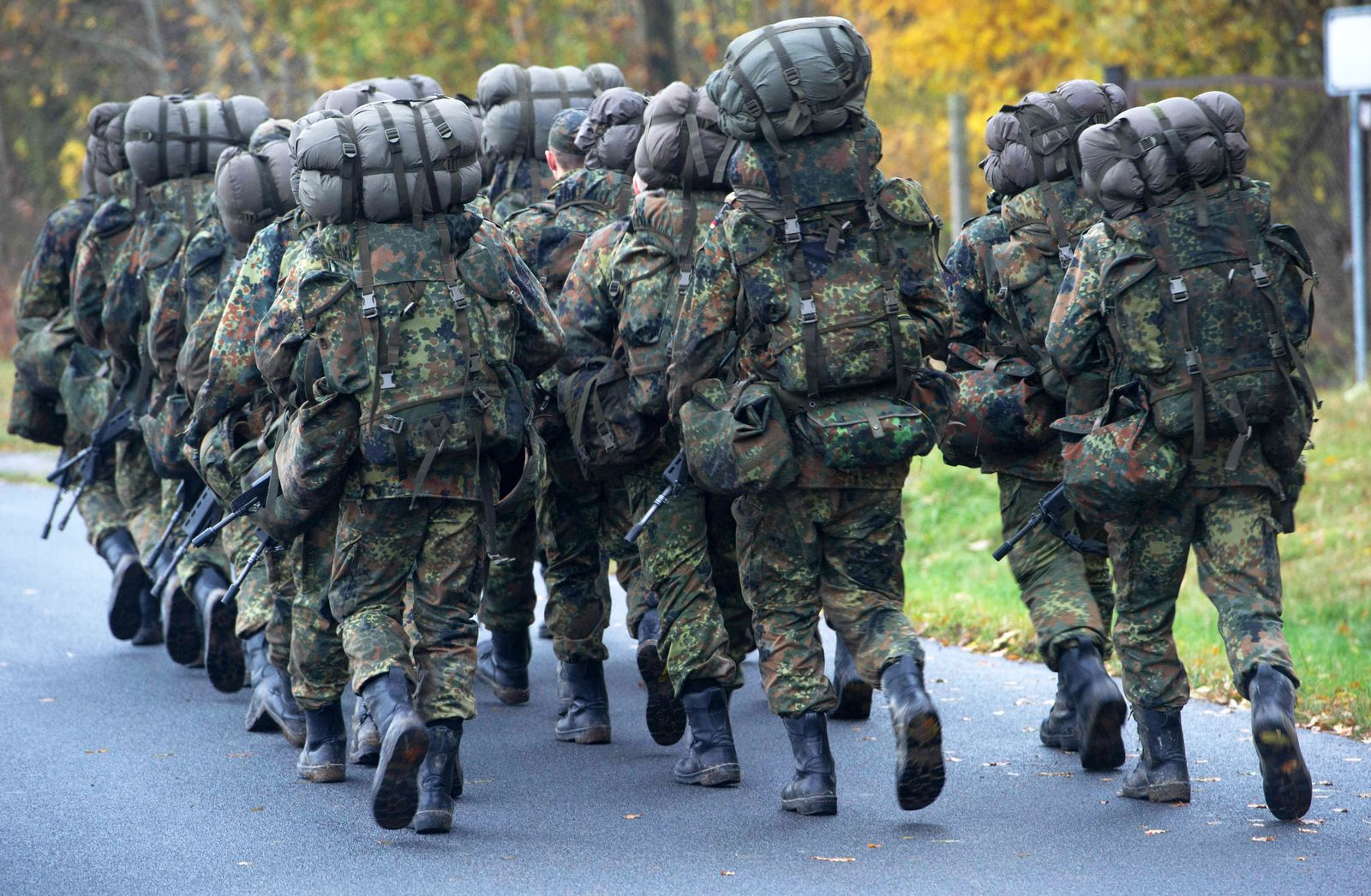 Bundeswehr Grundausbildung