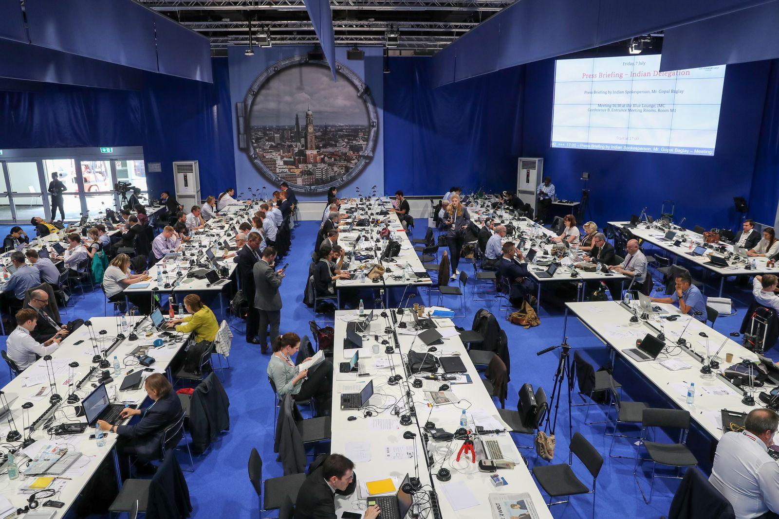 G20/ Hamburg/ Journalisten