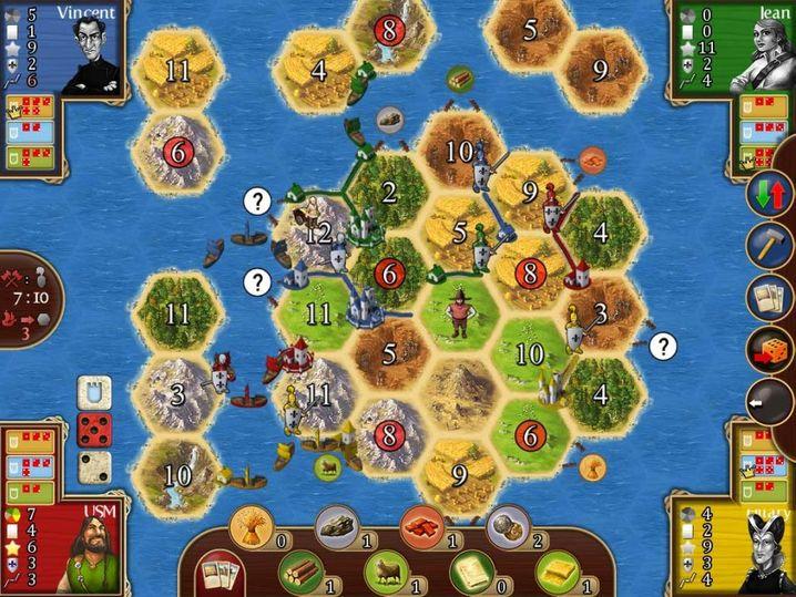 Spieleabend im Netz: Auf thepalefour.de kann man Brettspiel-Klassiker online spielen - SWR2