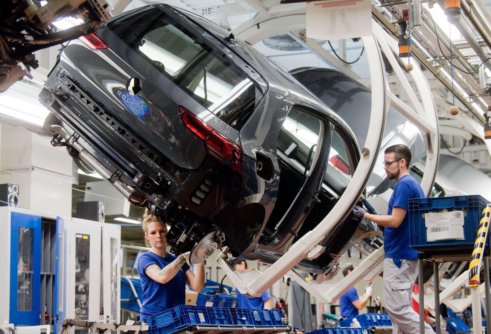 Volkswagen - Produktion