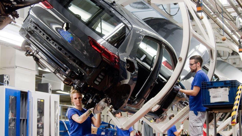 VW-Produktion in Wolfsburg: 3D-Druck von Teilen für Medizintechnik denkbar