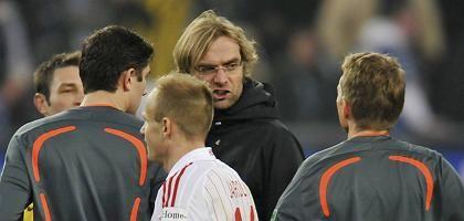 BVB-Trainer Klopp (2.v.r.): Ermittlungen nach Verbalattacke