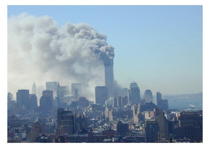 NUR FÜR EINESTAGES - Blick auf das World Trade Center