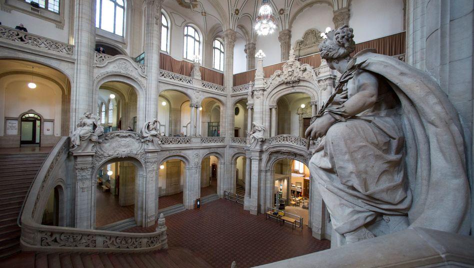 Kriminalgericht in Berlin-Moabit