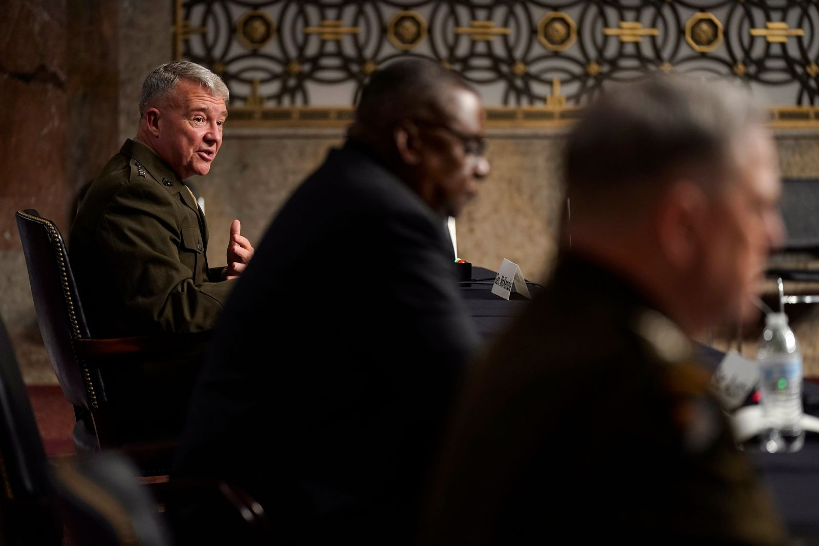 Senate Armed Services Committee hearing on the conclusion of military operations in Afghanistan