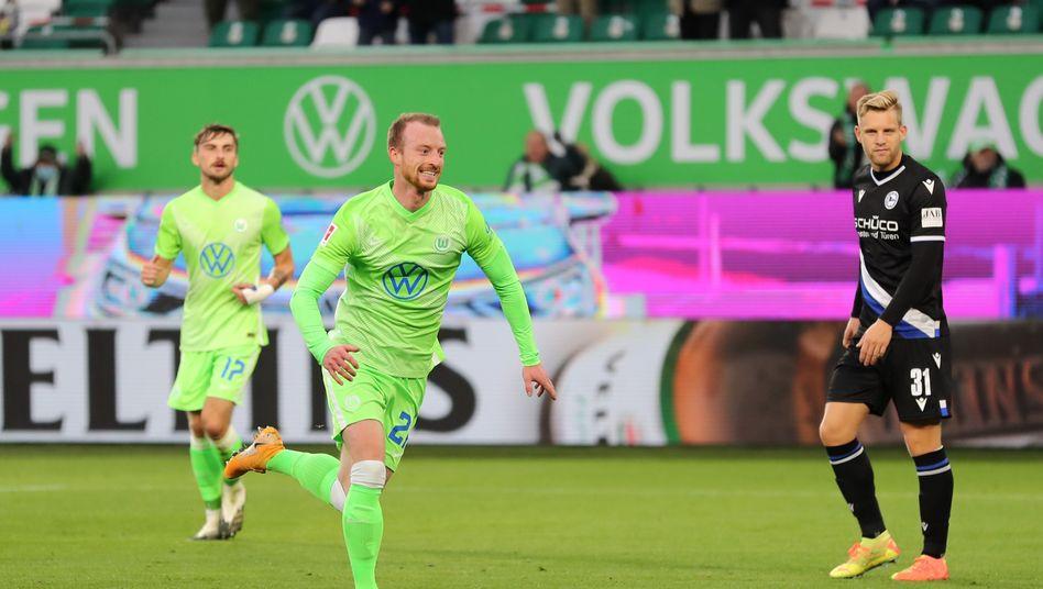 Torschütze und Vorbereiter: Wolfsburgs Maximilian Arnold