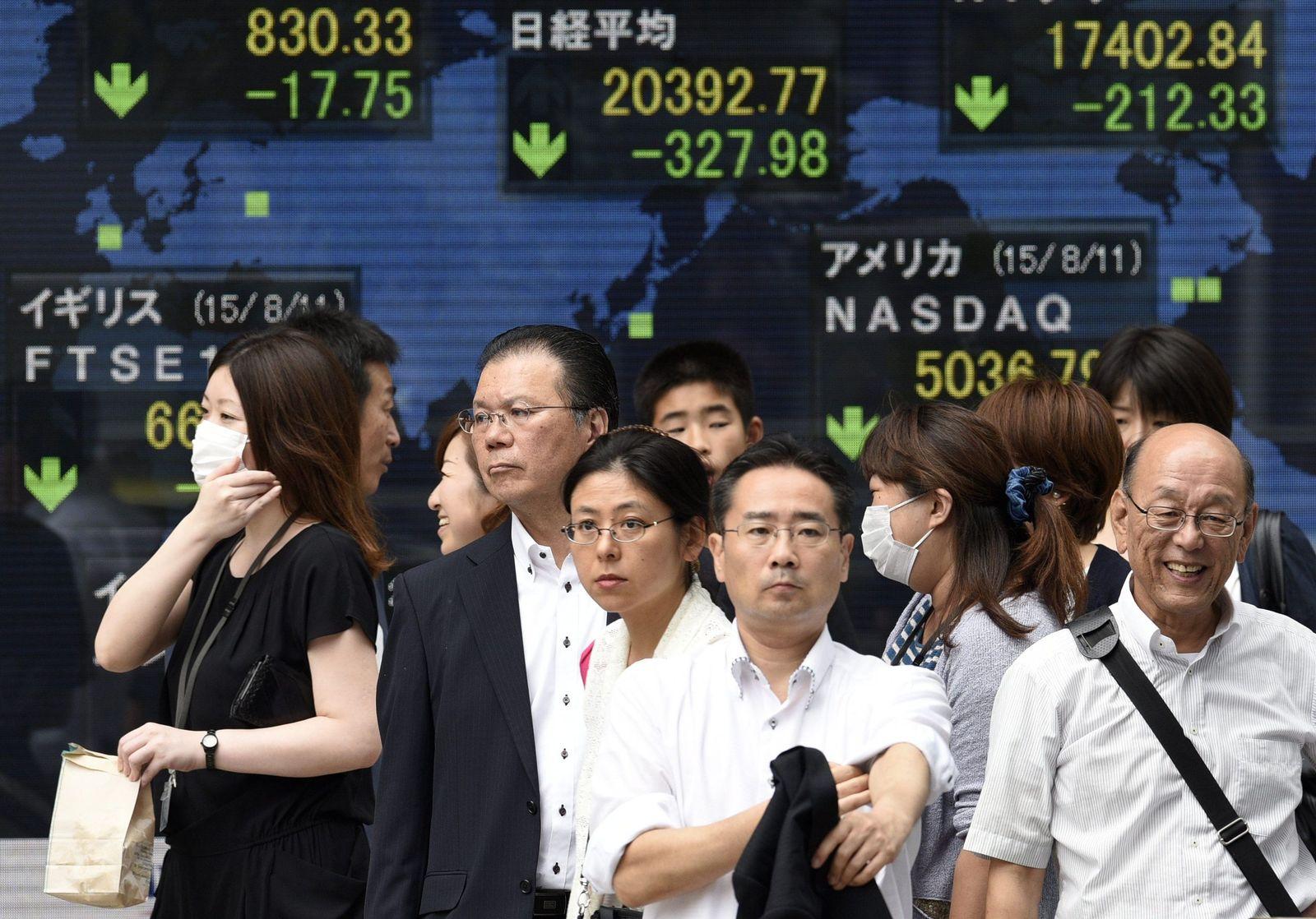 Börse Japan Tokio
