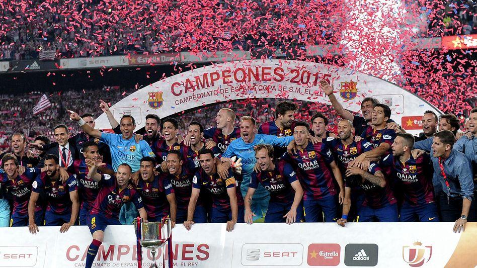 Pokalsieger Barcelona: Fans verärgern spanische Regierung