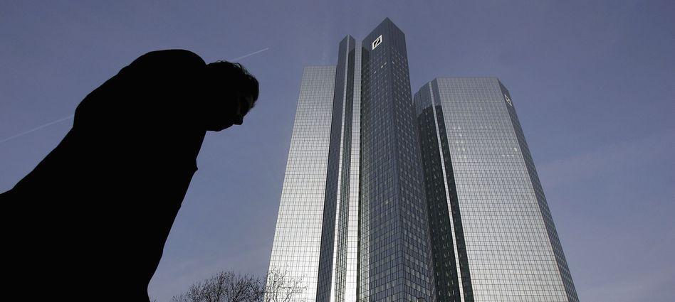 Zentrale der Deutschen Bank in Frankfurt: Vorwürfe aus New York