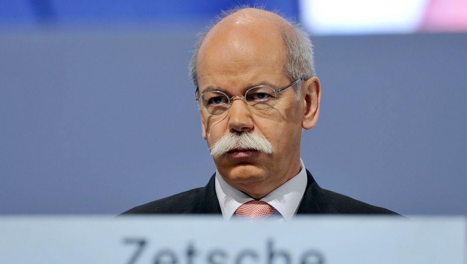 Daimler-Chef Dieter Zetsche: Der Autokonzern soll weiter sparen