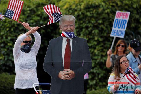 Lockdown-Gegner protestieren in Kalifornien