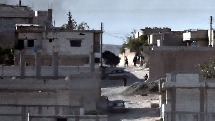Kobane: Erbitterter Kampf um die Grenzstadt