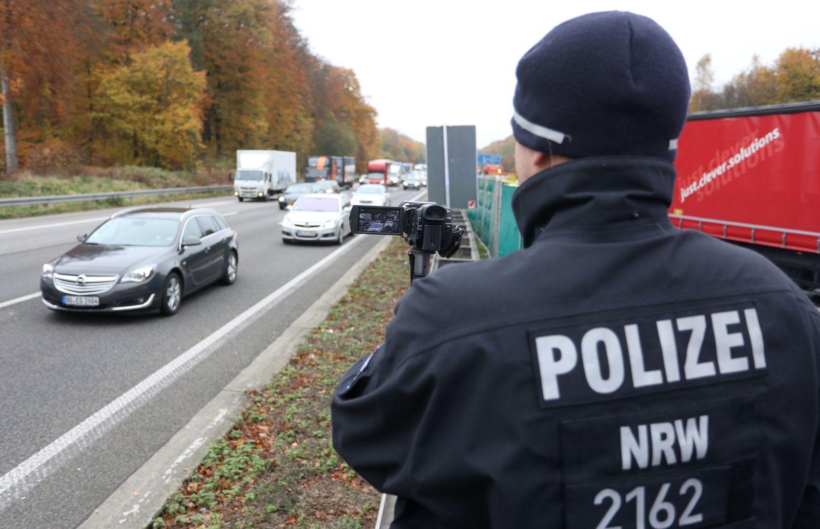 Polizei wehrt sich gegen filmende Unfall-Gaffer