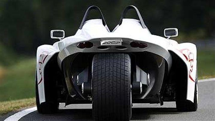Peugeot 20Cup: Drei Räder sind genug