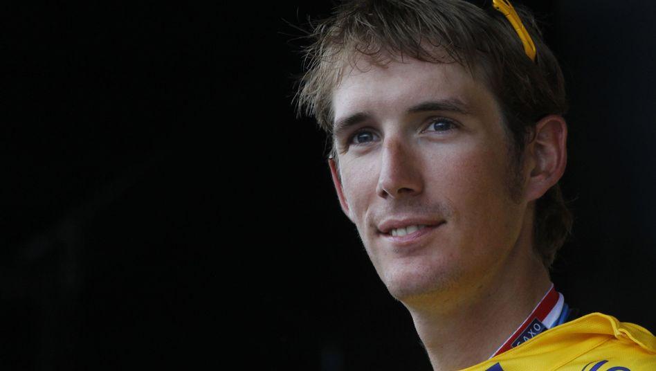 Radfahrer Andy Schleck (bei der Tour de France 2010): Karriereende mit 29 Jahren