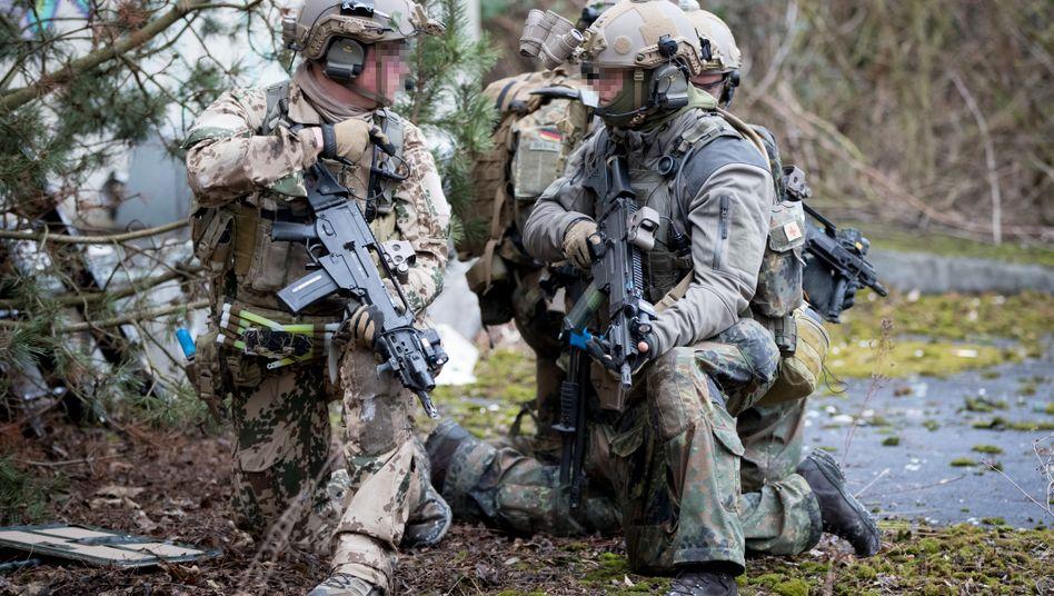 Soldaten des Kommandos Spezialkräfte bei einer Übung (Archivfoto von 2017)