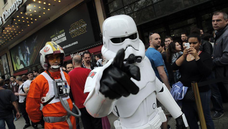 """Verkleidete """"Star Wars""""-Fans: Trailer zum neuesten Film vorgestellt"""