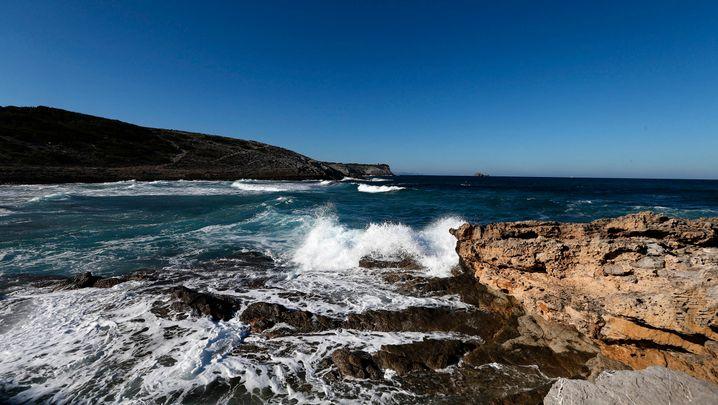 Die Bucht von Cala Torta im Gebiet der Meeresschutzzone