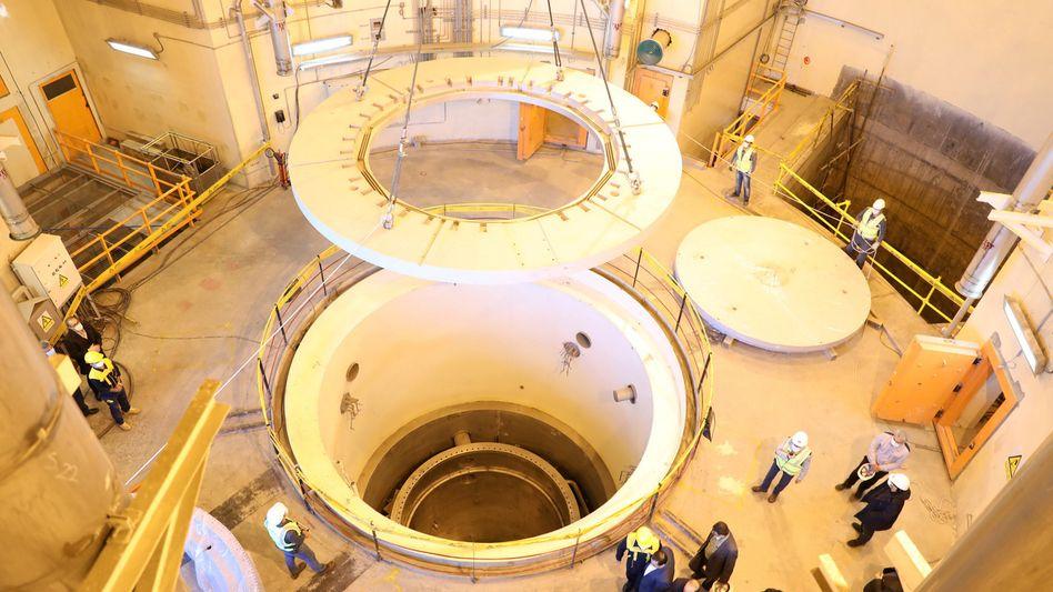 Mit dem Schwerwasserreaktor in Arak ließe sich waffenfähiges Plutonium herstellen