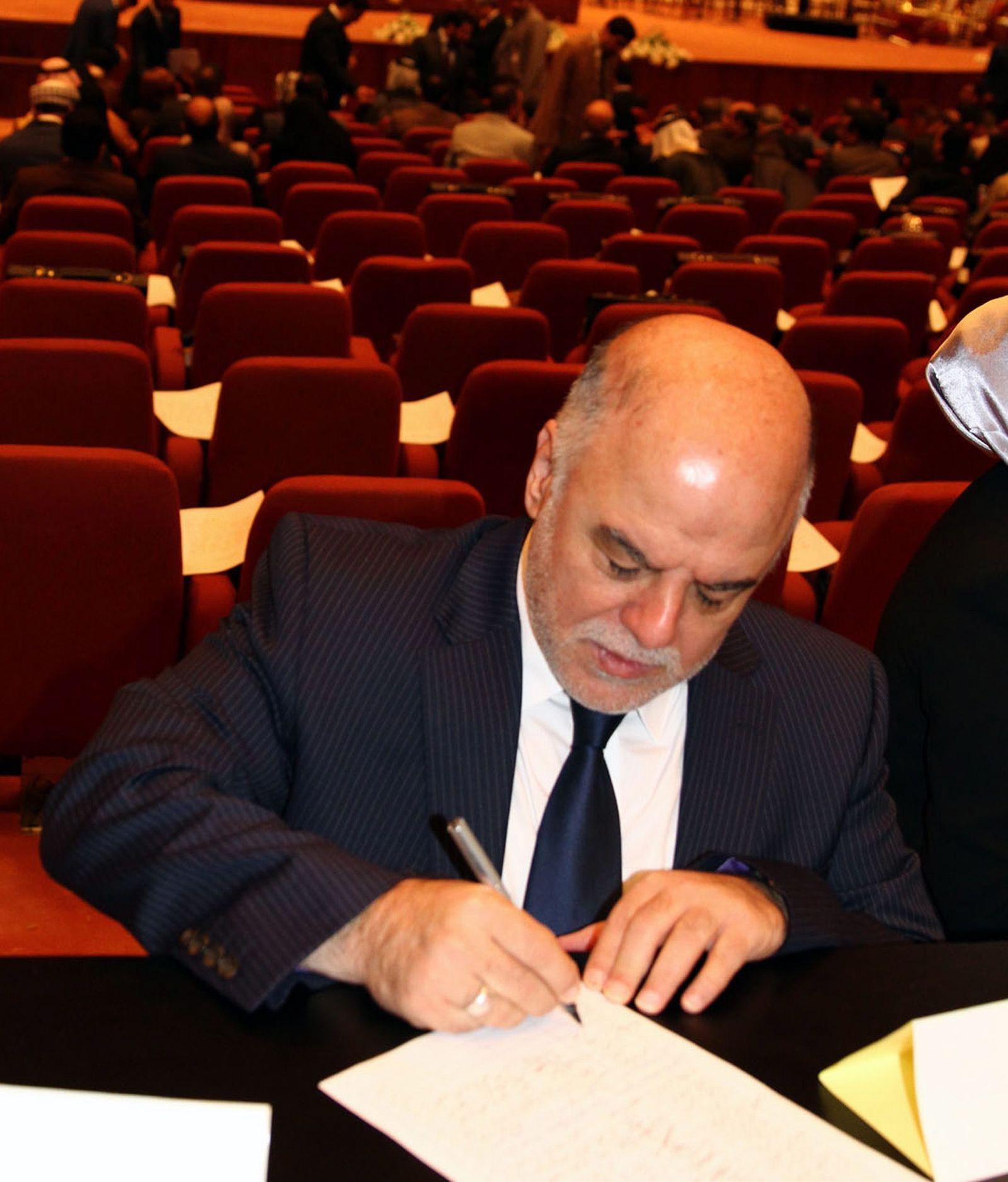 Irak Haider al-Abadi