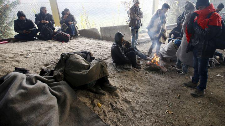 Flüchtlinge zwischen Österreich und Slowenien: Im Niemandsland