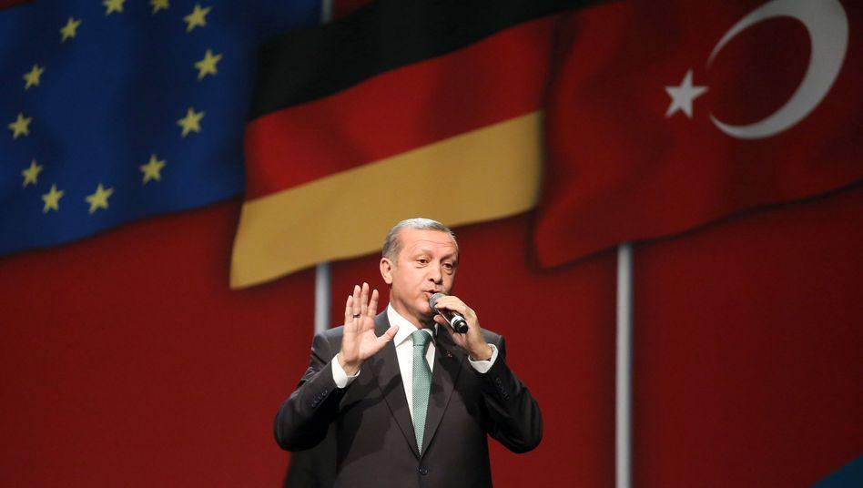Türkischer Ministerpräsident Erdogan