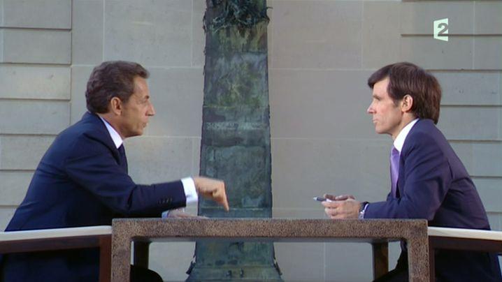 Sarkozy im TV: Spiel, Satz, Sieg
