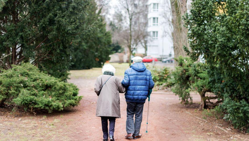 Rentnerpaar in Berlin