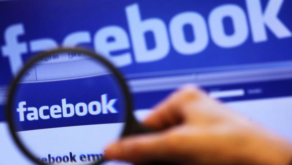 Netzwerk Facebook: Weniger Amerikaner benutzen die Internetplattform