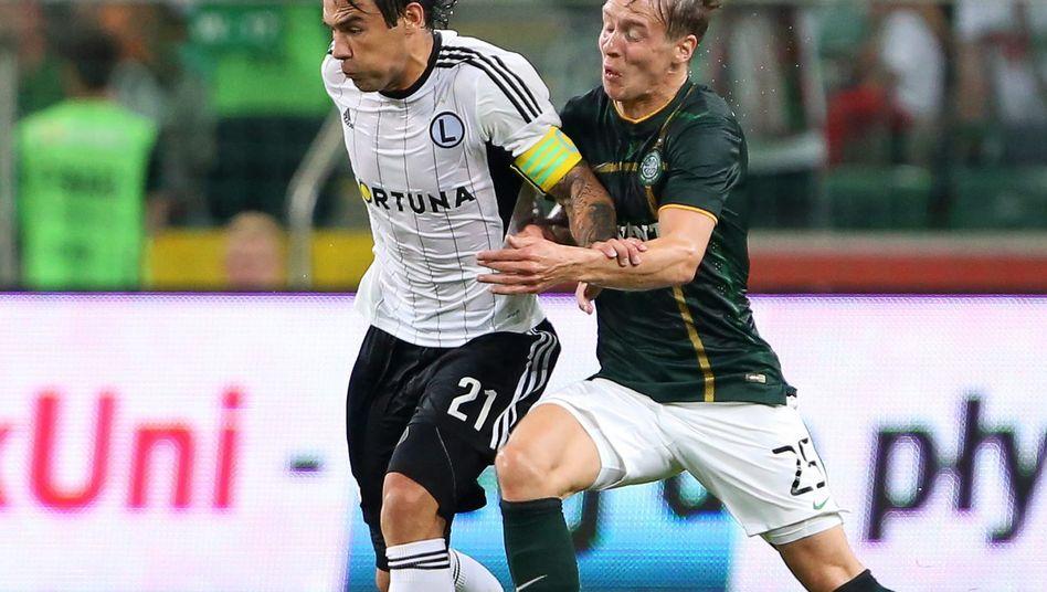 Celtic-Spieler Johansen: Vier Gegentore in Warschau