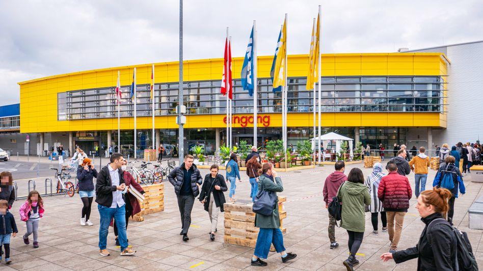 Ikea-Filiale in Berlin: Optimierungsbedarf in den eigenen vier Wänden