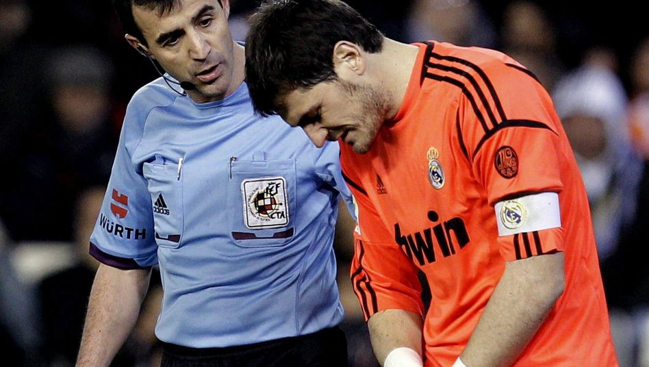 Real-Torwart Casillas: Verletzung im Pokal-Viertelfinale