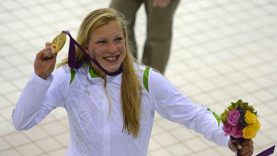 Ruta Meilutyte: 15 Jahre alt - und Olympiasiegerin