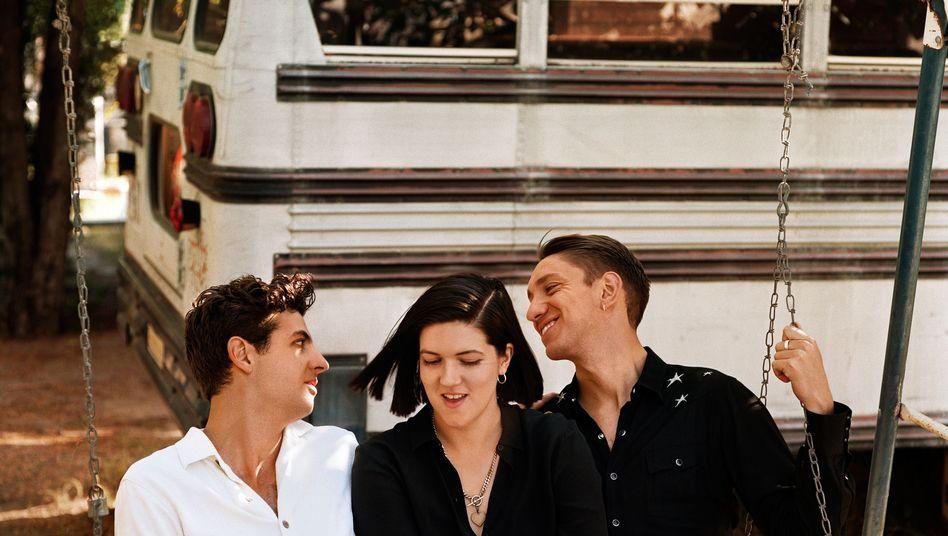 Popband The xx: Jamie Smith, Romy Madley Croft, Oliver Sim