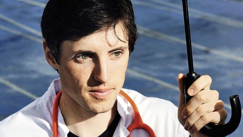Medizinstudent Karus im Stadion in Tübingen: »Um das zu erreichen, was er als Läufer draufhatte, muss man nicht dopen«