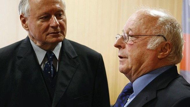 Politiker Lafontaine, Autor Blüm 2006 Widerstand gegen den Neoliberalismus