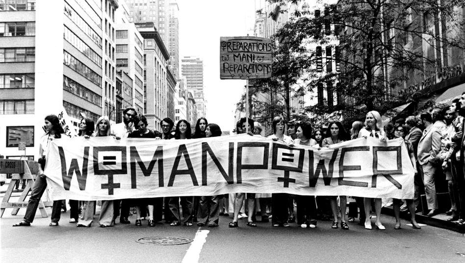 Frauenproteste in New York 1971