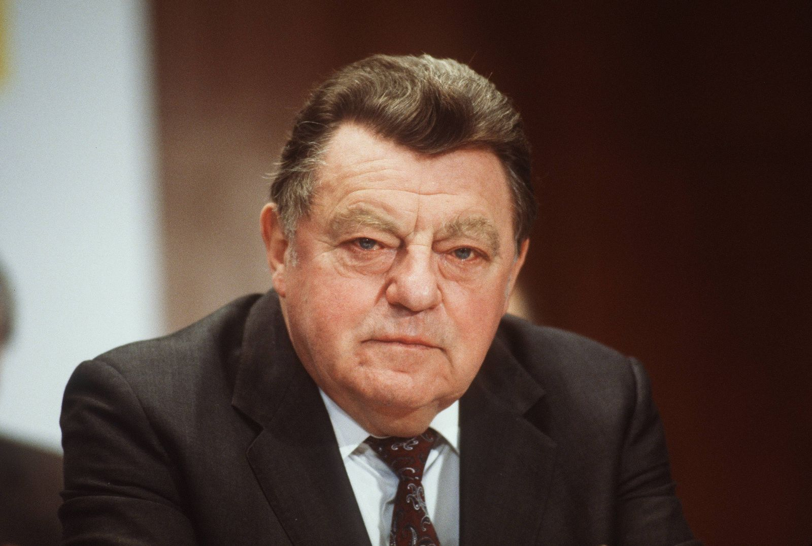 EINMALIGE VERWENDUNG Franz Josef Strauß