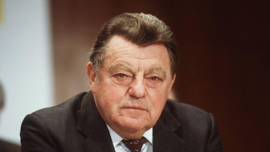 Franz Josef Strauß: Allein von 1964 bis 1968 mehr als 490.000 Mark